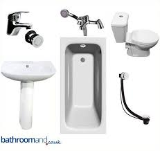 Bathroom Shower Suites Sale Bathroom Suite Toilet Basin Sink Pedestal 1700mm Bath Shower Mixer