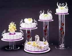 acrylic cake stands best 25 acrylic cake stands ideas on bling cakes