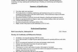 Hvac Resume Sample by Examples Hvac Technician Resume Sample Resumes Sample Resume For