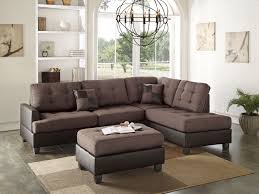Sectional Sofa And Ottoman Set by 3pc Sectional Sofa With Ottoman Reversible Chaise
