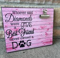 pet picture frame whoever said diamonds were a u0027s