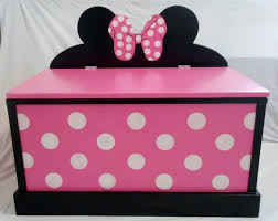 Wooden Toy Box Diy by Minnie Mouse Wooden Toy Box Google Search Little Girls