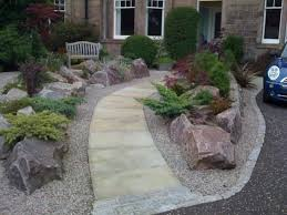Front Yard Landscaping Ideas Without Grass Small Garden Landscaping Ideas For Front Yard Gardening