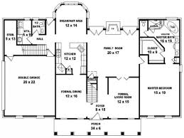 georgian style house floor plans queen anne lrg colonial plan