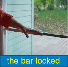 Secure Sliding Patio Door Sliding Glass Door Security Lock Bar 15121