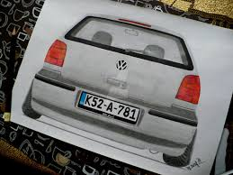volkswagen drawing vw polo 6n2 drawing by hary1908 on deviantart