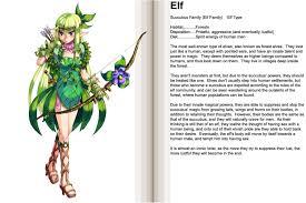 image elf png monster encyclopedia wiki fandom powered