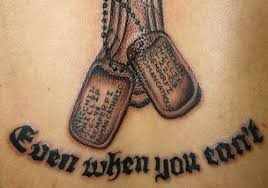 remembrance dog tags 25 astounding dog tag tattoos creativefan