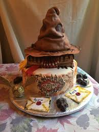 beer cake homemade harry potter birthday cake with butter beer cake and