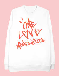 where to buy ariana grande u0027s one love manchester sweatshirt