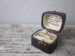 wedding rings in box vintage wedding ring box vintage wedding ideas