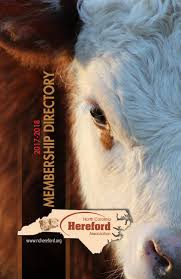 nchereford2017 2018 by nc hereford association issuu