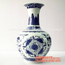 Blue Vase Story Free Shipping Chinese Porcelain Wedding Decoration Antique