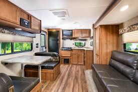 Front Kitchen Rv Floor Plans Ameri Lite Light Weight Trailers Gulf Stream Coach Inc