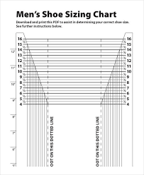 printable ruler pdf a4 printable shoe size chart 9 free pdf documents download free