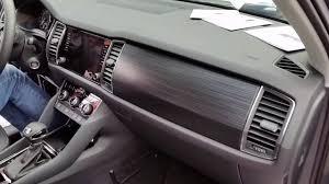 skoda kodiaq interior skoda kodiaq 2016 interior exterior design 4 camera youtube