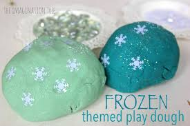 frozen themed play dough activity the imagination tree