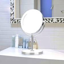 lighted magnifying makeup mirror vanities mary kay travel lighted 8x magnifying makeup mirror