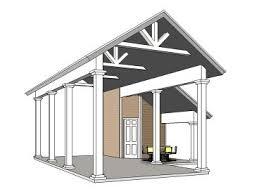 Garage With Carport Rv Garage Plans U0026 Motor Home Garages U2013 The Garage Plan Shop