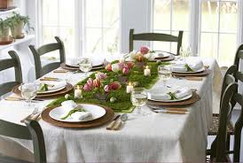 Easter Table Decoration Ideas Pinterest table setting at home for a buffet pinterest easter decorations