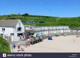 St Ives Beach House Porthgwidden Beach St Ives Cornwall Stock Photos U0026 Porthgwidden