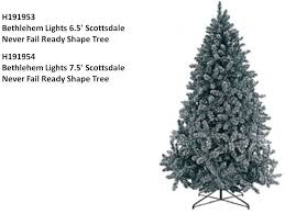 bethlehem lights recalls trees sold exclusively by qvc
