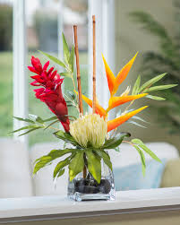 tropical flower arrangements tropical silk flower arrangements artificial plants trees