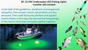 green blob fishing light reviews 12v 24v waterproof led night fishing light boat lighting attract