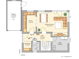 Haus Grundriss Häuser Grundrisse Modern Mit Haus Efh Toskana 155 Hausbau24 6 Und