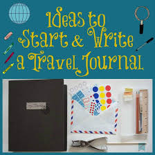 ideas to start and write a travel journal in the kitchen with kp