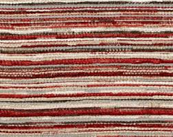 Maroon Upholstery Fabric Red Grey Yellow Woven Upholstery Fabric For Furniture