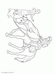 barbie coloring pages print barbie and her sisters in a pony tale coloring pages