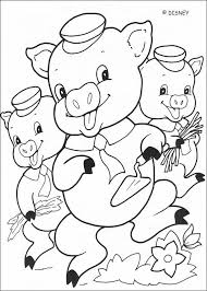 pigs coloring pages hellokids