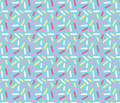 donut wrapping paper donut blue sprinkle fabric heatherhightdesign spoonflower