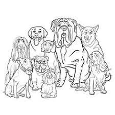dog and puppy coloring pages free printable dogs and puppies coloring pages for kids german