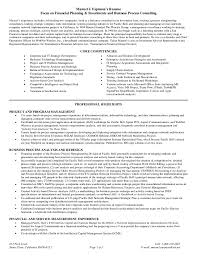 business process consultant sample resume business process