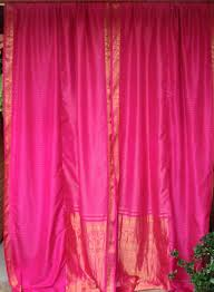babylon sisters boho curtains from vintage saris