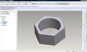 how to assemble nut and bolt in pro engineering wildfire 4 u0026 5