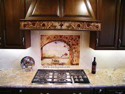 Kitchen Tile Backsplash Murals by Wine And Roses Tile Mural Kitchen Backsplash Custom Tile