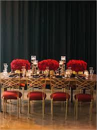 Red And Gold Reception Decoration 518 Best Red Weddings And Centerpieces Images On Pinterest