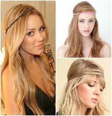 headband across forehead summer hair swag 2013 south moon