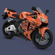 honda cbr sports bike super bike 3d model