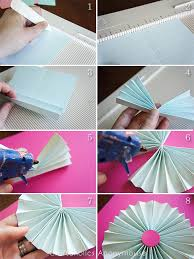 how to make a fan craftaholics anonymous paper fan garland tutorial