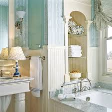 bathroom awesome french country bathroom with glass wall shelves
