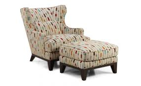 High Back Accent Chairs Ottoman Exquisite Wingback Accent Chair And Ottoman With