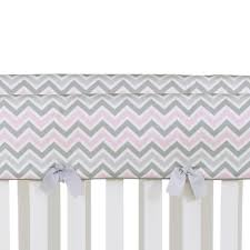 Convertible Crib Bedding Kaitlyn Convertible Crib Rail Protector Set Of 2