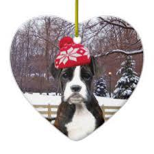 boxer ornaments keepsake ornaments zazzle