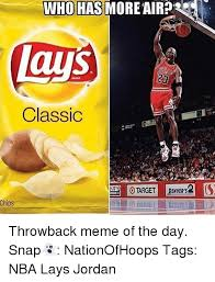 Lays Chips Meme - who has more air lays classic target chips throwback meme of the