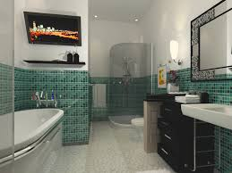 green bathroom tile cool best ideas about slate tile bathrooms on
