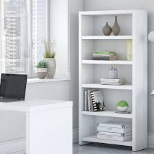 kathy ireland office by bush echo bookcase desk with storage wayfair
